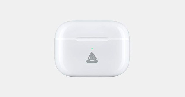 Apple can now engrave emoji on your AirPods