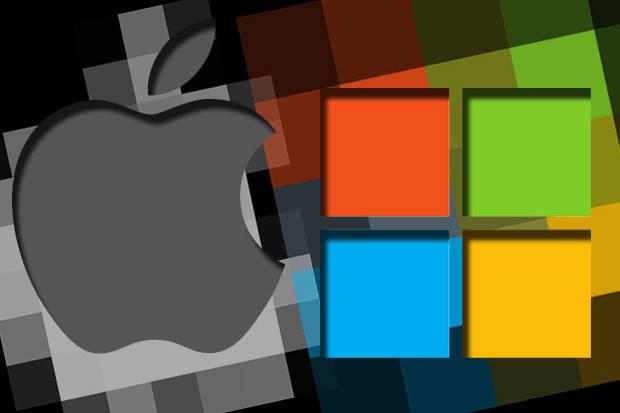 Apple Vs Microsoft Ads Spend in 2019
