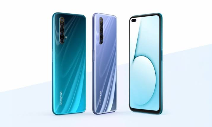 Realme X50 with 120Hz display