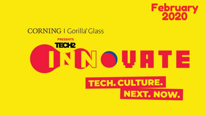 Corning Gorilla Glass presents Tech2Innovate Tech & Culture fest in Victor Park New Delhi from 14 To 15 February 2020.