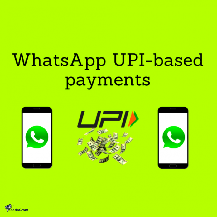 WhatsApp payments would make it one of the largest payment services in the country, as WhatsApp already has a base of over 400 million existing users in India.