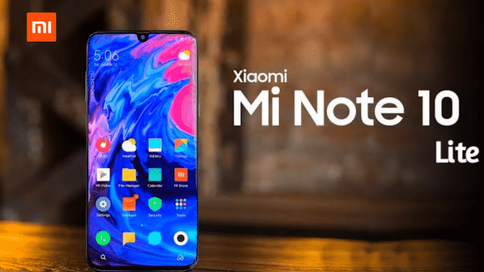 Mi NOTE 10 LITE - Full Specification Leaked