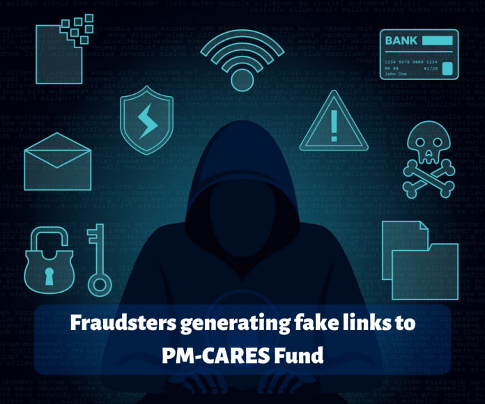 Fraudsters generating fake links to PM-CARES Fund