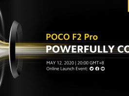 Poco F2 and Poco F2 Pro to be launched at the global event on May 12